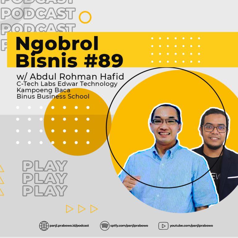 Ep.89 – Satu Keluarga Satu Sarjana w/ Abdul Rohman Hafid